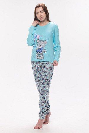 Пижама Martial Цвет: Голубой. Производитель: Новое Кимоно