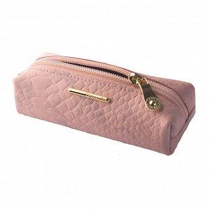 Ключница Nice, глянцевая кожа, цвет розовый крокодил