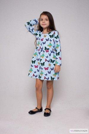 Платье Ткань: Футер 2-х Нитка. Состав: 95%хлопок, 5% лайкра Платье из качественного полотна , футер с лайкрой без начеса, пенье. 95 % х/б , 5 % лайкра.