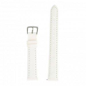 Ремешок для часов, 14 мм, женский, натуральная кожа, l=18 см, белый
