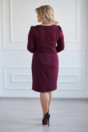Платье артикул 0119-12 Бордо