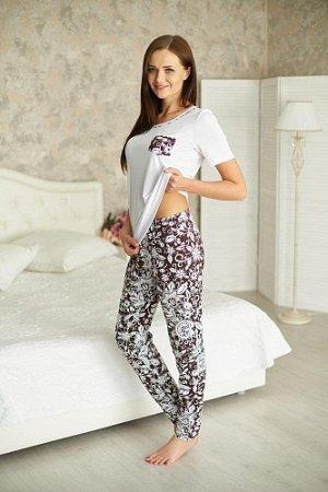 Костюм (футболка+брюки), арт. 0763-19