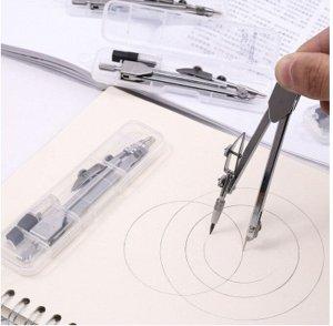 Циркуль Циркуль металлический в пластиковом пенале 110 мм, с грифелями