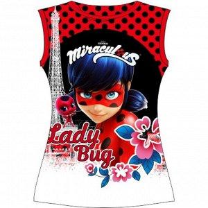 Подростковая футболка Леди Баг (L)