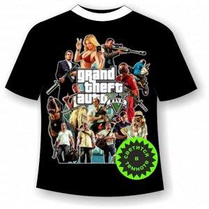 Подростковая футболка GTA 468