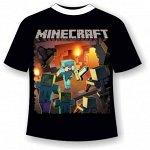 Детская футболка Майнкрафт 484 (В)