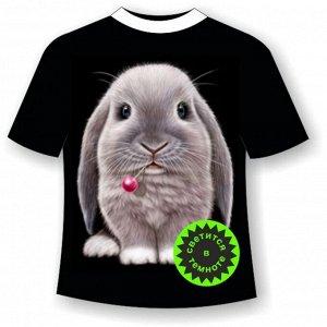 Детская футболка с кроликом 930 (B)