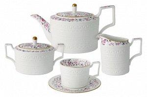 Чайный сервиз Стиль, 6 персон, 15 предметов