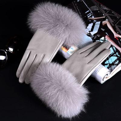 Готовим Зиму! Пуховики / Шапки / Парки / много новинок!  — Перчатки женские — Кожаные перчатки