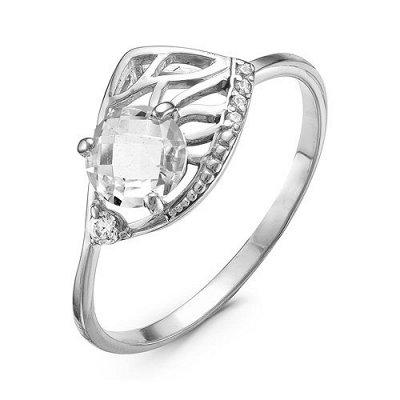 Артефакт -58. Стильные украшения . — Кольца с бесцветными фианитами — Ювелирные кольца