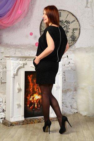 Платье Состав - Джерси (75%вискоза, 15% акрил, 5%эластан, 5% люрекс).