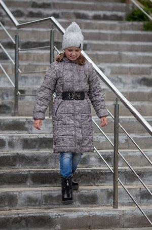 Пальто девочки удлиненное