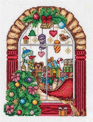 Набор для вышивки Новогодняя витрина
