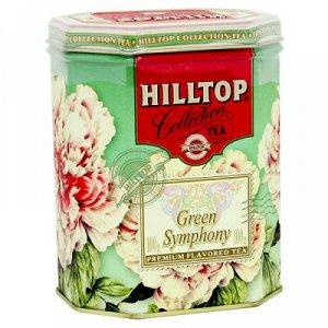 Чай Чай HILLTOP в подарочном восьмиграннике 'Зеленая симфония' ж/б 100 г