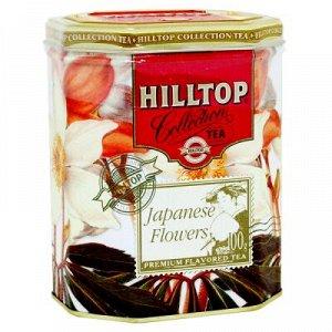 Чай Чай HILLTOP в подарочном восьмиграннике 'Японская липа' ж/б 100 г