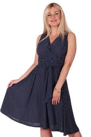 Платье П 706 (крапинка)