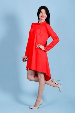 Платье П 539 (красный)