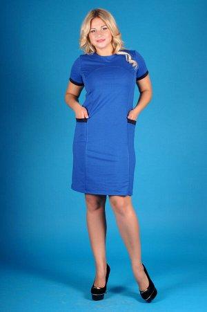 Платье П 268 (василек)