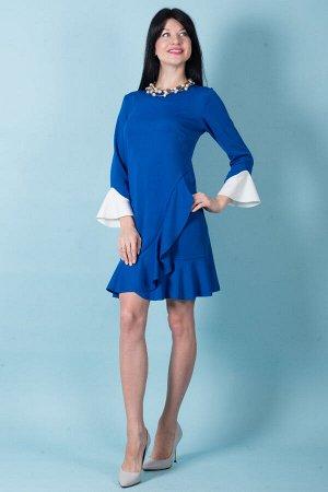 Платье П 501 (васильковый)