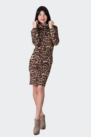 Платье П 494 (леопард)