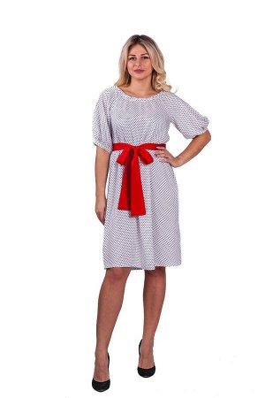 Платье П 550/1 (горошек)