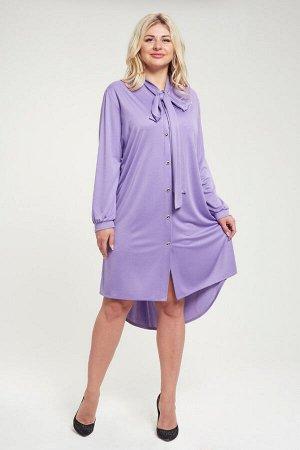 Платье П 563 (сиреневый)
