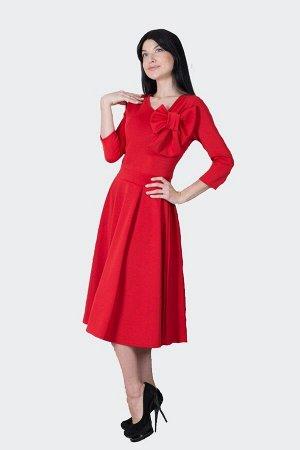 Платье П 490 (красный)