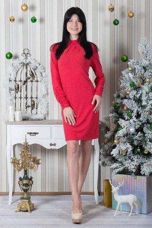 Платье П 427 (красный)