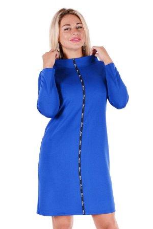 Платье П 473 (васильковый)