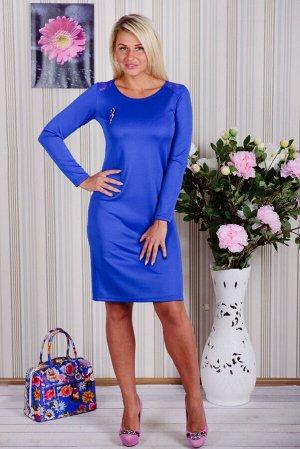 Платье П 522 (васильковый)