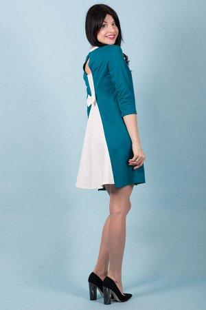 Платье П 520 (морск.волна)