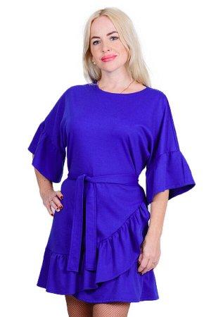 Платье П 470 (васильковый)