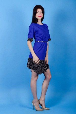 Платье П 439 (васильковый)