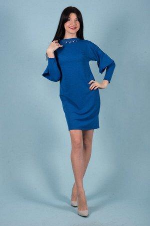 Платье П 516 (васильковый)