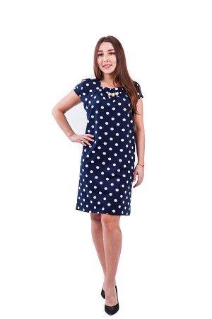 Платье П 577 (горох)