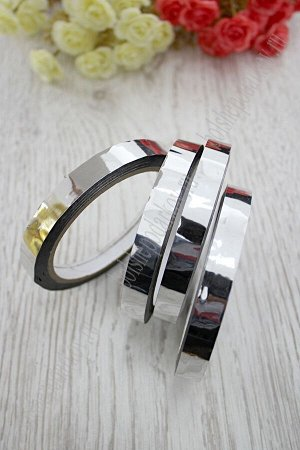 Лента-скотч 12 мм (SF-2338) серебро