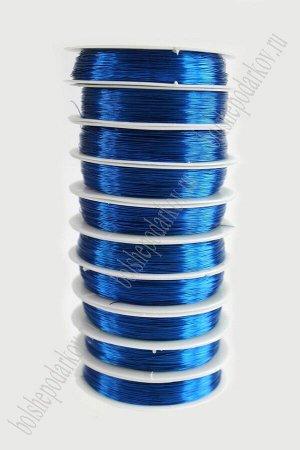 Проволока 0,3 мм*50 м SF-900, синий