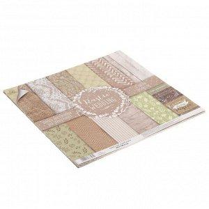 Набор бумаги для скрапбукинга RusticWedding, 12 листов 30,5 ? 30,5 см, 180 г/м