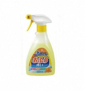 """Чистящая спрей-пена для ванны """"Foam spray Bathing wash"""" (с антибактериальным эффектом и апельсиновым маслом)"""