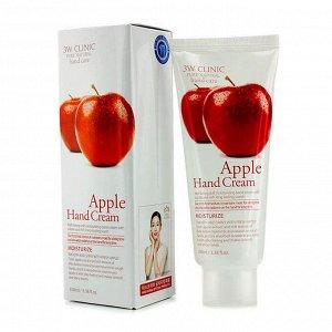 3W CLINIC Крем для рук Moisrurzing Hand Cream [Apple], 100 мл