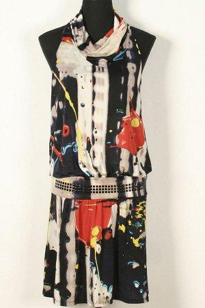 Платье Платья 555, разноцветный