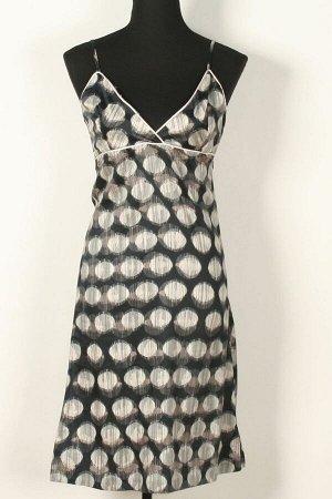 Платье Платья 589,российский размер, серо/черный