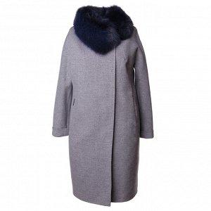 Пальто женское с натуральным мехом, Россия