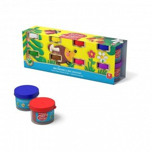 Пластилин на растительной основе набор 8 цветов по 35 г, ArtBerry с Алоэ Вера