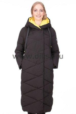Пальто Towmy 2365_Р (Черный/Желтый 003)