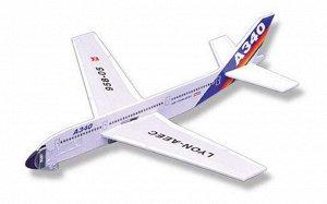 95805 Самолет планирующий 290х270 1стр., 290х270х10 мм, Пакет