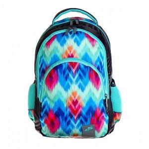 Рюкзак молодёжный, Luris «Рондо», 44 x 30 x 17 см, эргономичная спинка, «Зигзаг»