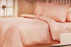 КПБ SATEN NEVRESIM (сатин) розовый 1,5