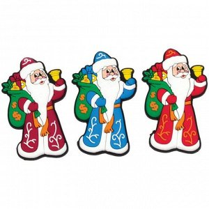 """Магнит фигурный """"Дед Мороз с подарками"""", 6*3,5см"""