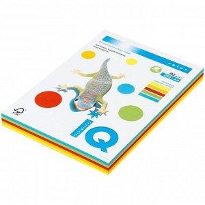 """Бумага IQ """"Color Intensive Mixed Packs"""" А4, 80г/м2, 250л. (5 цветов)"""